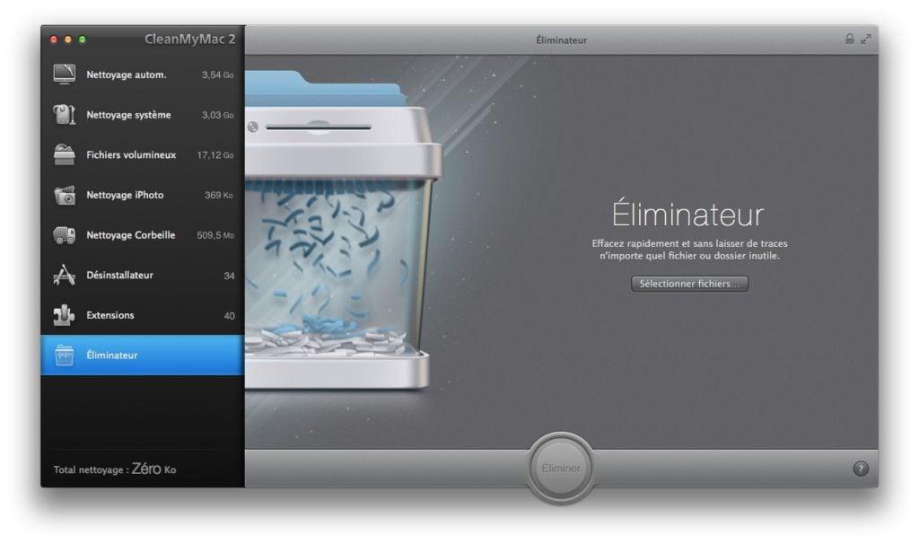 eliminateur mac