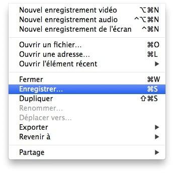 enregistrement audio mac