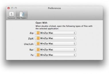 winzip mac compression