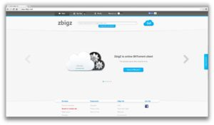 Torrent dans le cloud : zbigz