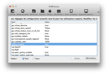 torrent mac - utorrent mac preferences