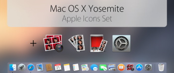 Yosemite Transformation Pack Mac OS X Yosemite Official icons Pack
