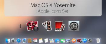 Yosemite Transformation Pack Mac OS X Yosemite Official icons Pack