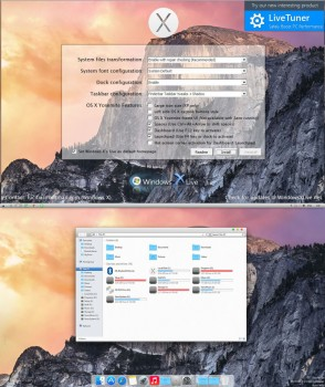 Yosemite Transformation Pack windows