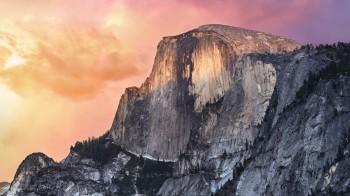 Yosemite wallpaper fond ecran par defaut