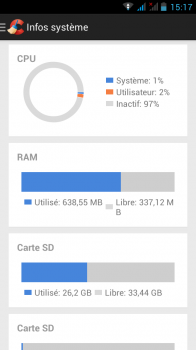 ccleaner android info systeme