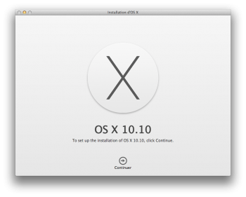 dual boot yosemite installation
