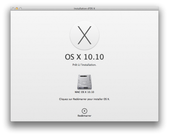 dual boot yosemite redemarrage