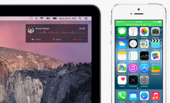 ios 8 ipad mac telephone