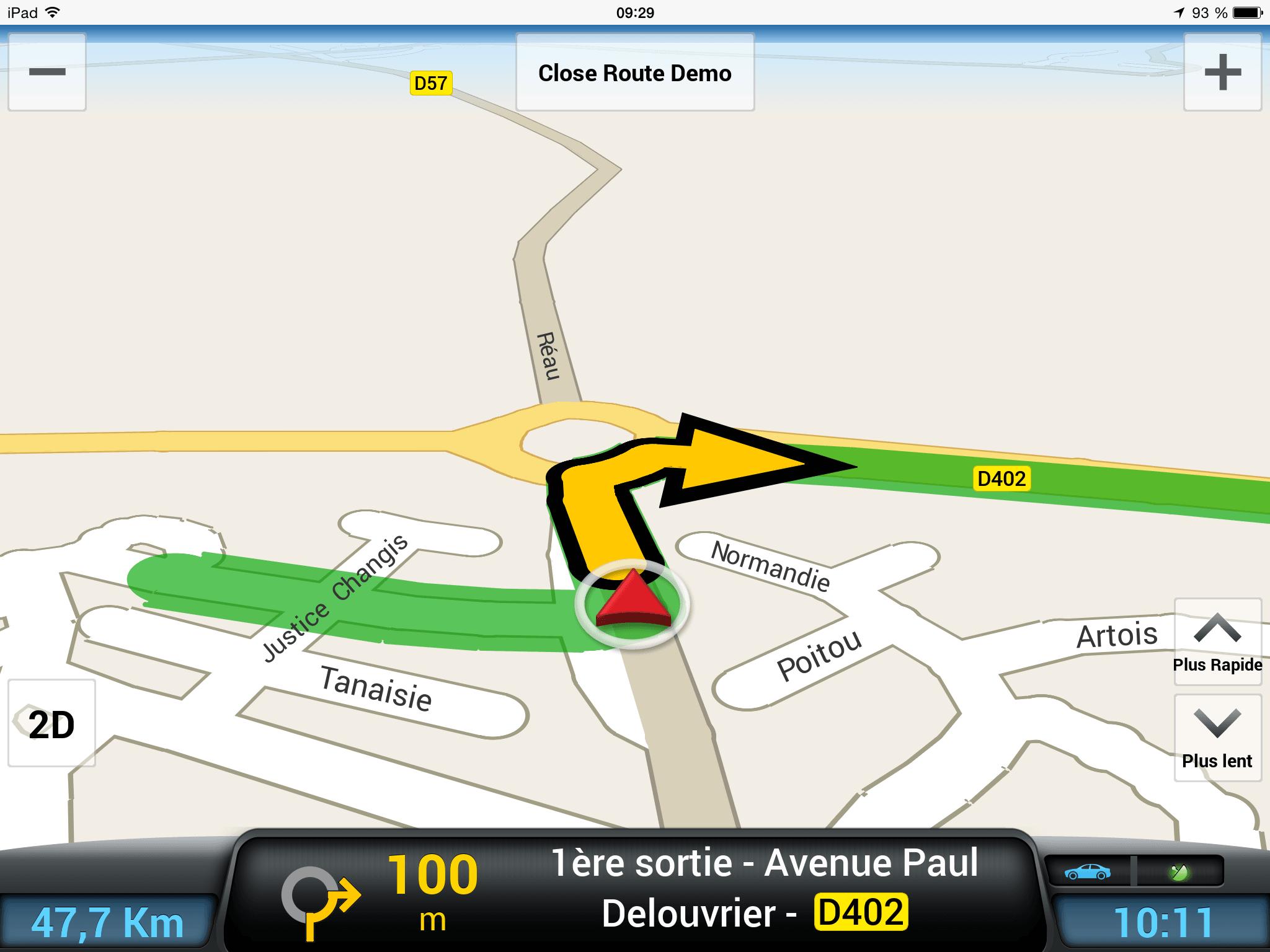 CoPilot Premium : navigateur GPS avec ou sans 3G /4G (iOS)