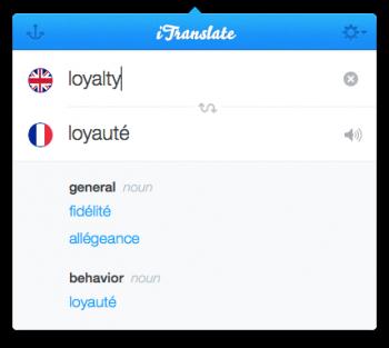 itranslate traducteur mac