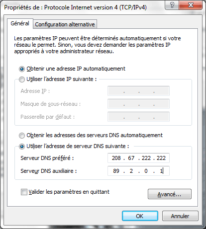 tuto meilleur dns windows