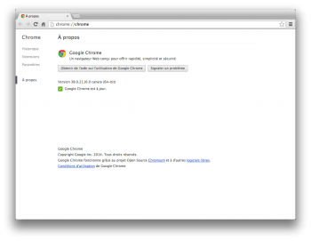 google chrome canary 64 bits