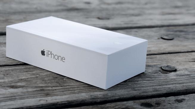 iphone 6 plus deballage coffret unboxing