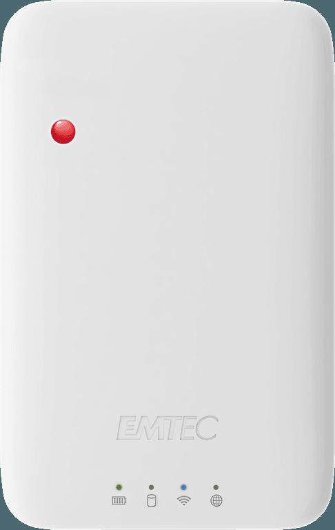 Emtec Wi-Fi HDD vue de haut