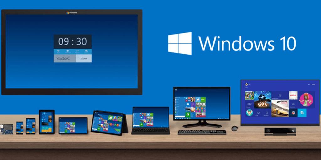 Windows 10 multi supports