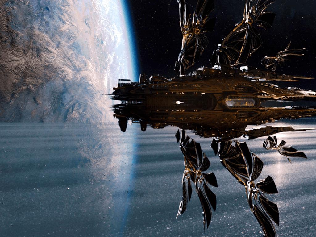 jupiter ascending vaisseau spatiale