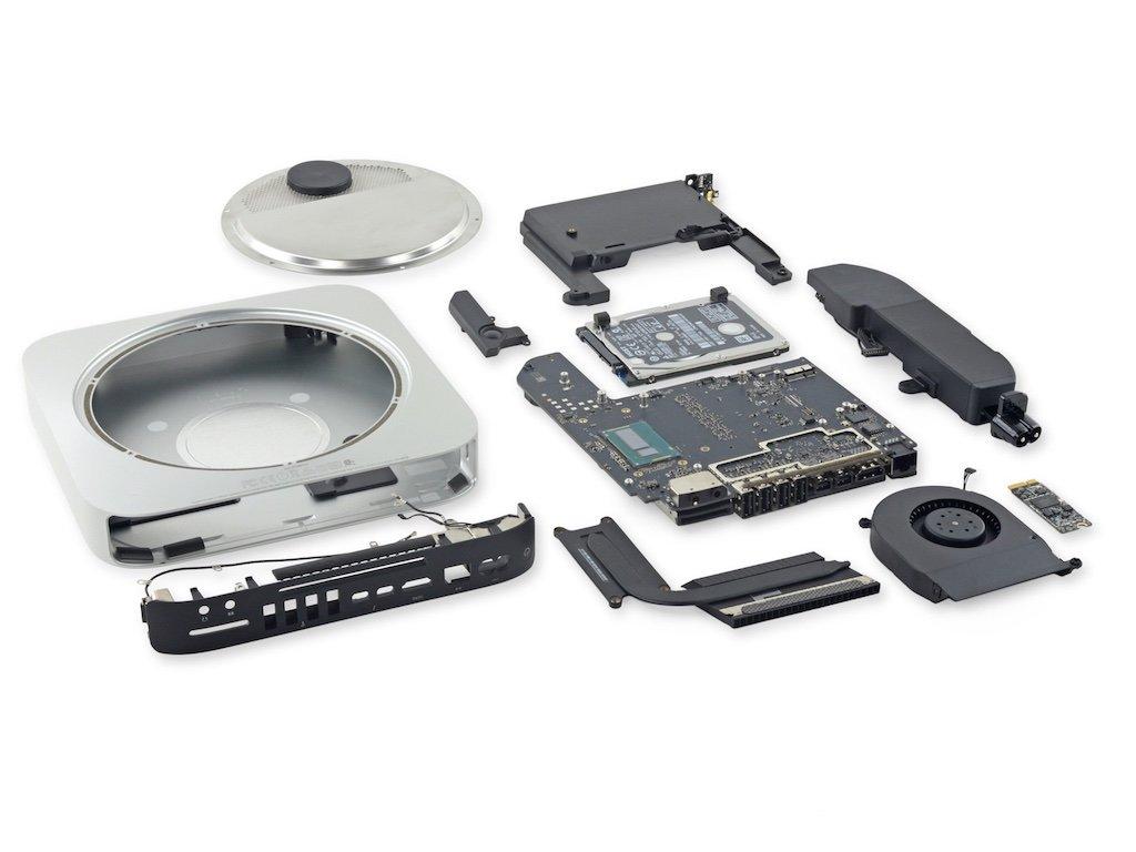 mac mini 2014 composants