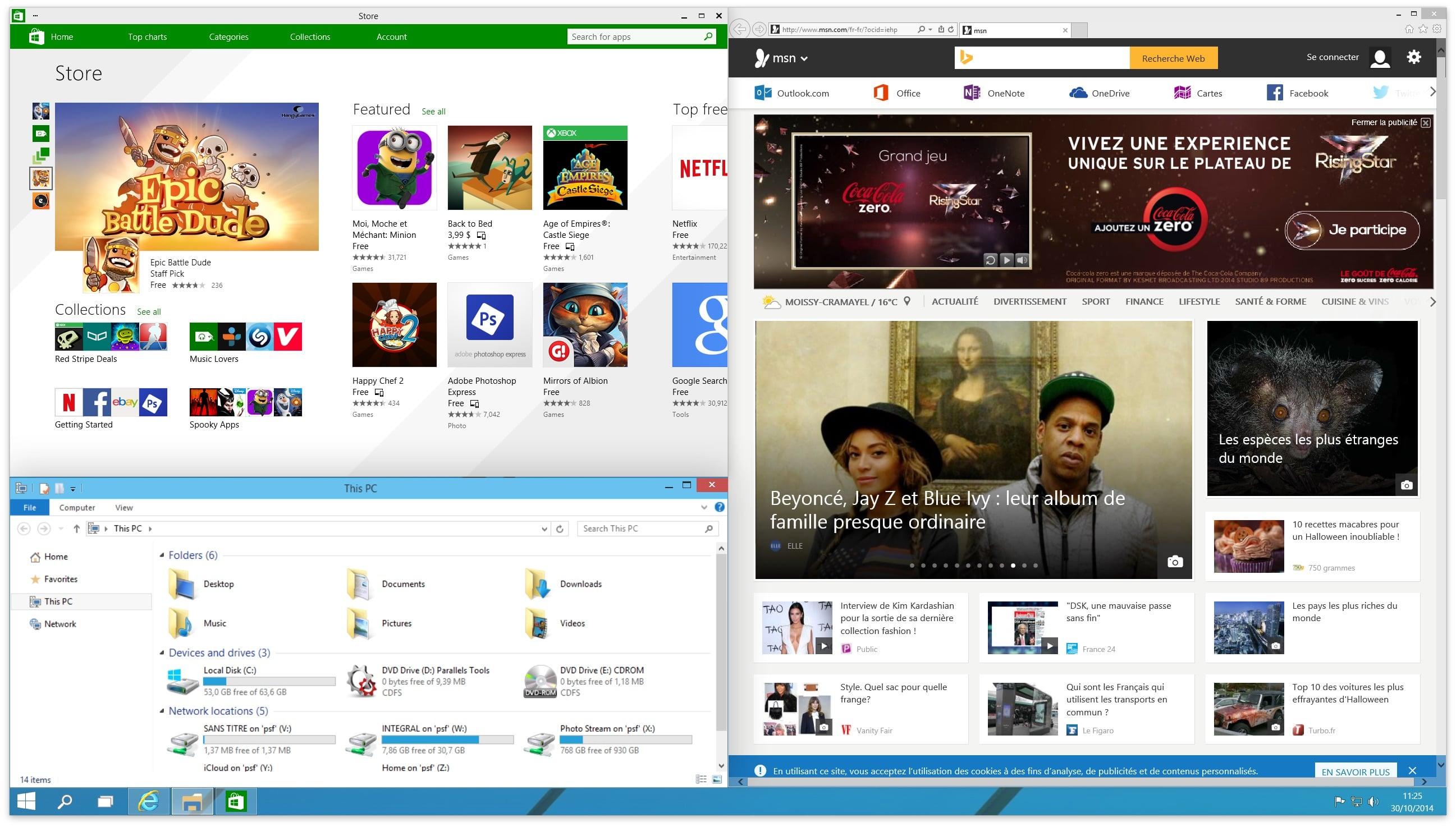 windows 10 snap