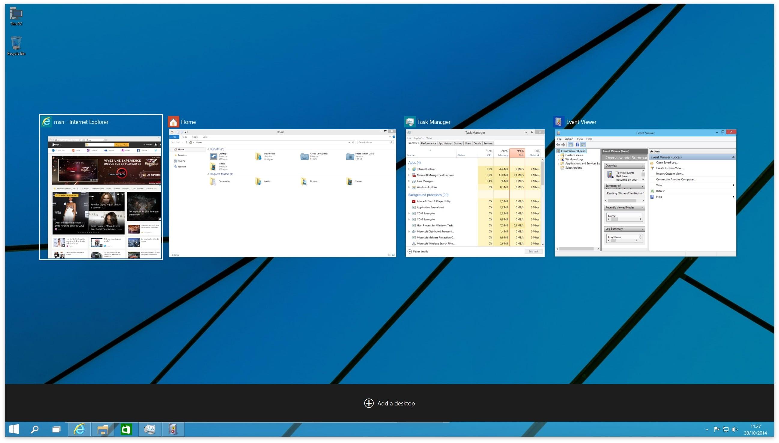windows 10 taskview