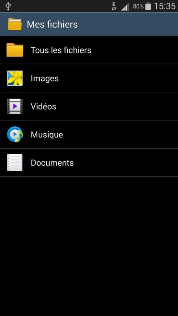 Lexar JumpDrive M20 Mobile gestionnaire de fichier