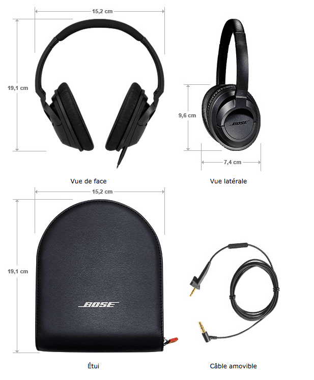 Bose Circum Soundtrue coffret