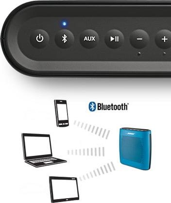 Bose SoundLink Colour boutons