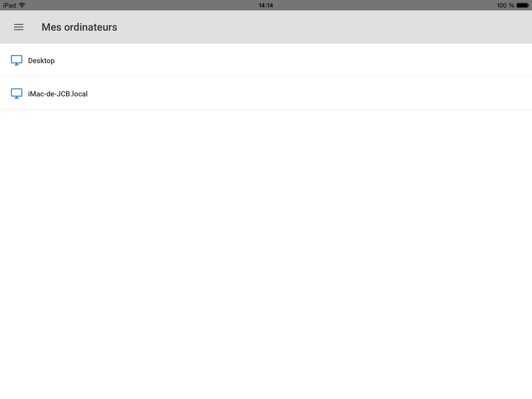 chrome remote desktop pc windows et mac