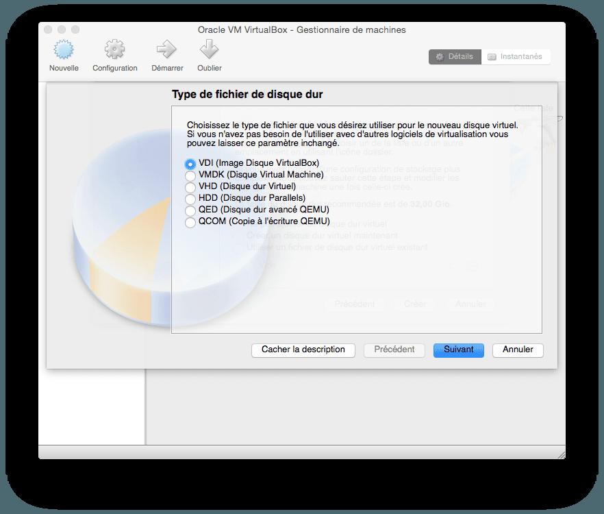 installer windows 10 sur mac VDI
