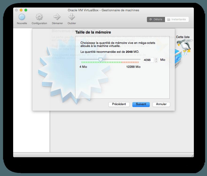 installer windows 10 sur mac allouer  memoire