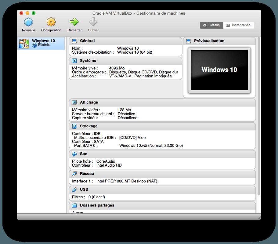 installer windows 10 sur mac tutoriel