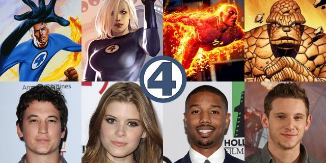 4 fantastiques 2015 casting