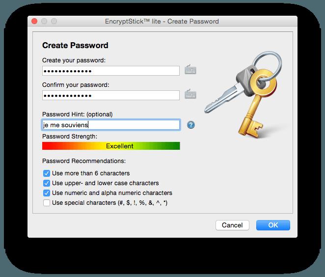 Lexar JumpDrive P20 Encryptstick