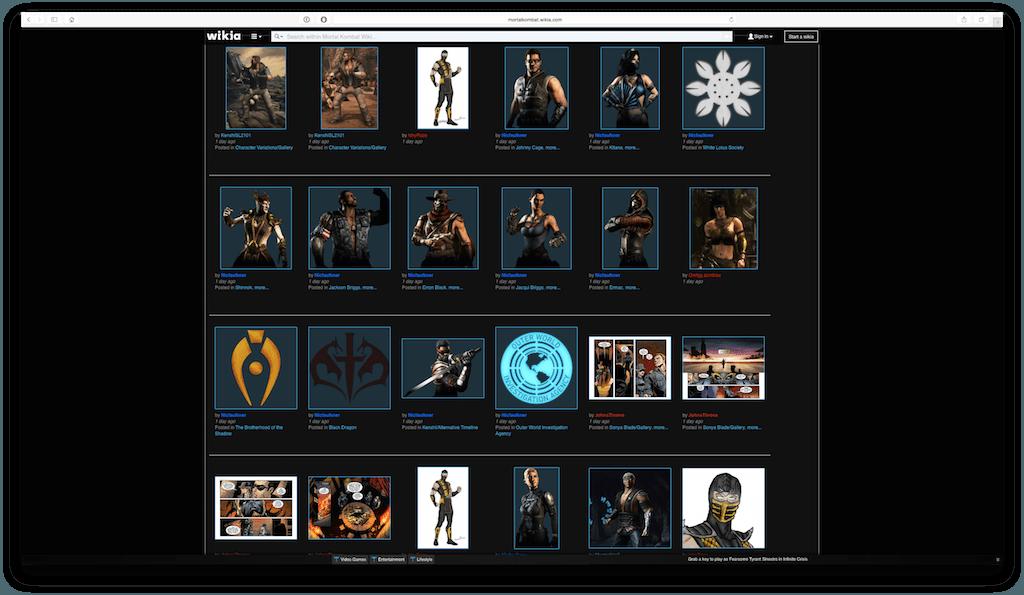 Mortal Kombat 10 personnages