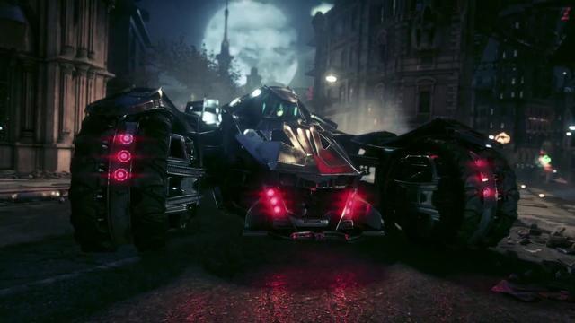 Batman Arkham Knight, batmobile