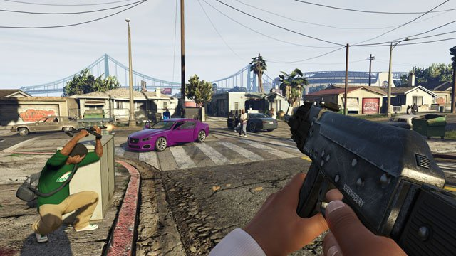 GTA 5 PC personnages