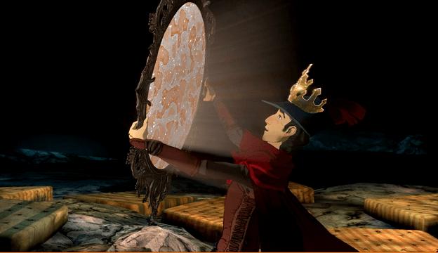 King's Quest 2015, miroir magique