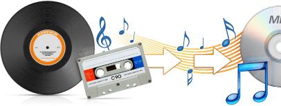 Golden records disque vinyles et cassettes en mp3