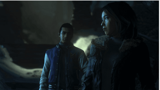 Until Dawn personnages