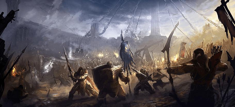 Tamriel : trois factions en guerre