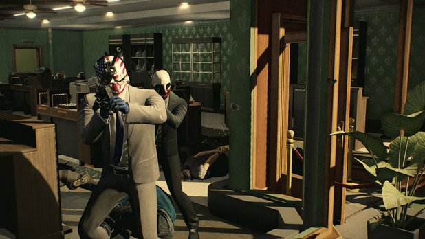 payday 2 crimewave edition : Heist