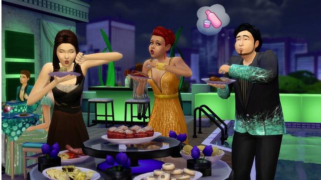 Sims : table des banquets