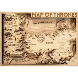 game of thrones carte en bois westeros essos. Black Bedroom Furniture Sets. Home Design Ideas