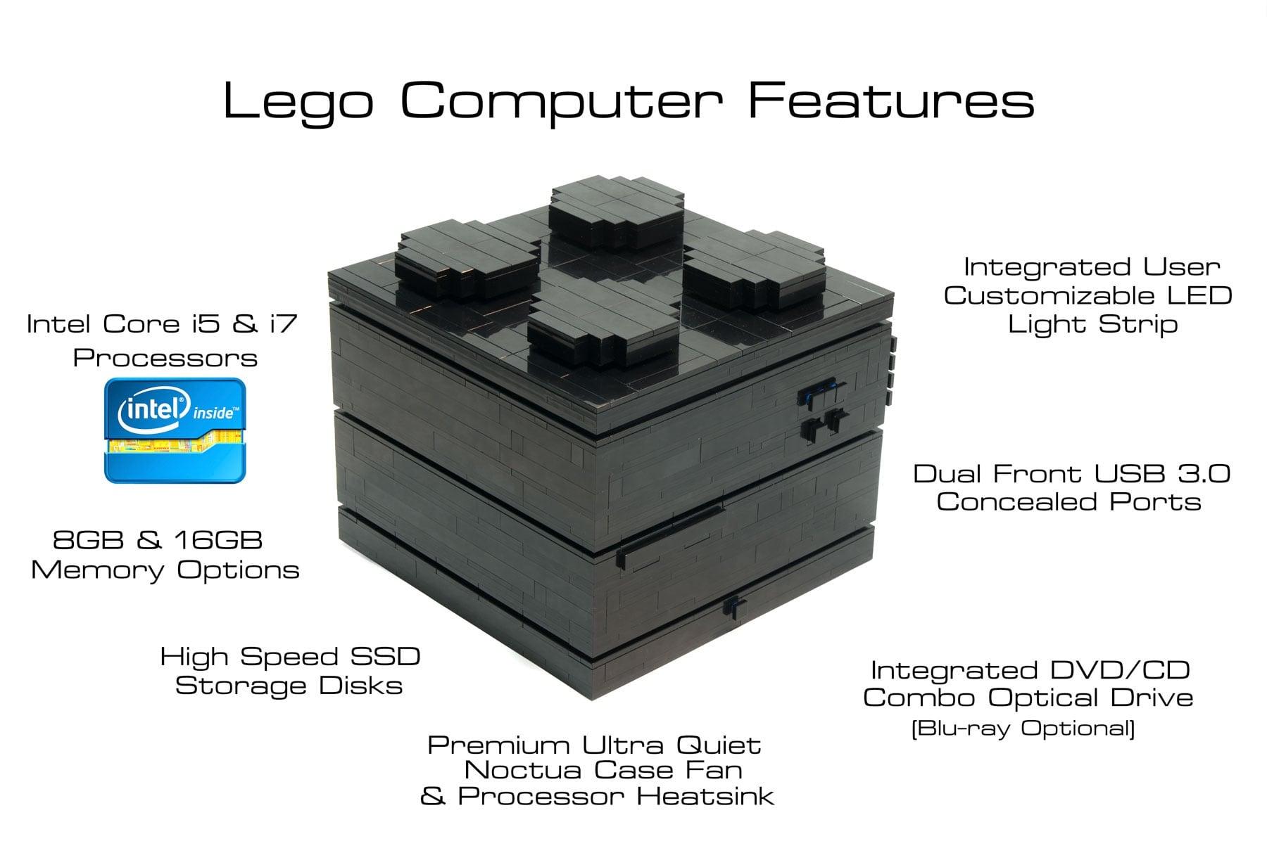 Lego computer configuration