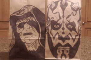 Lunch bag art lunch bag dad