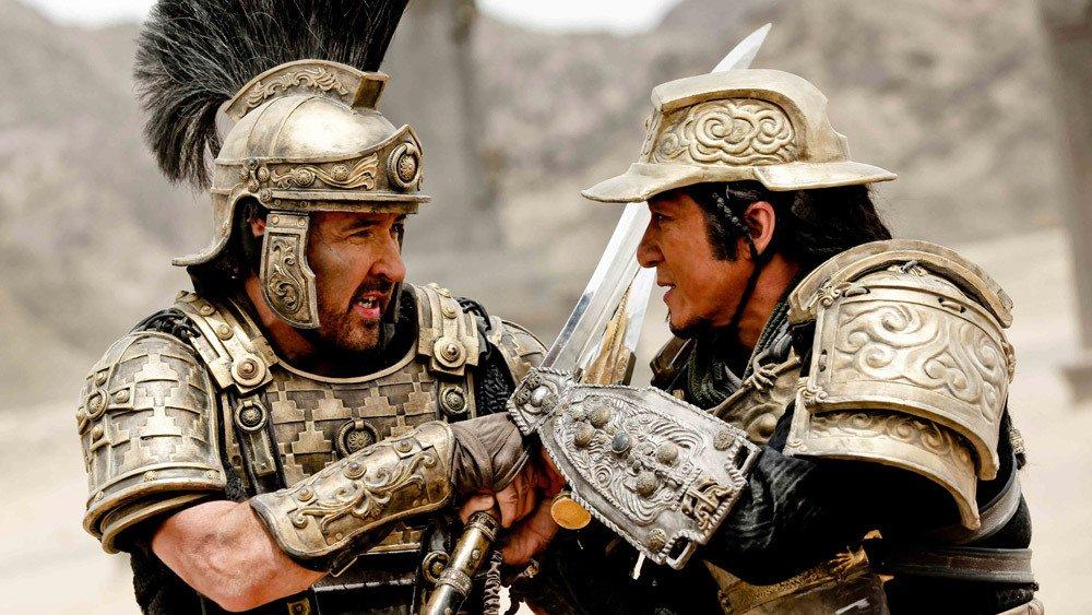 Dragon Blade : combat entre Lucius et Huo An