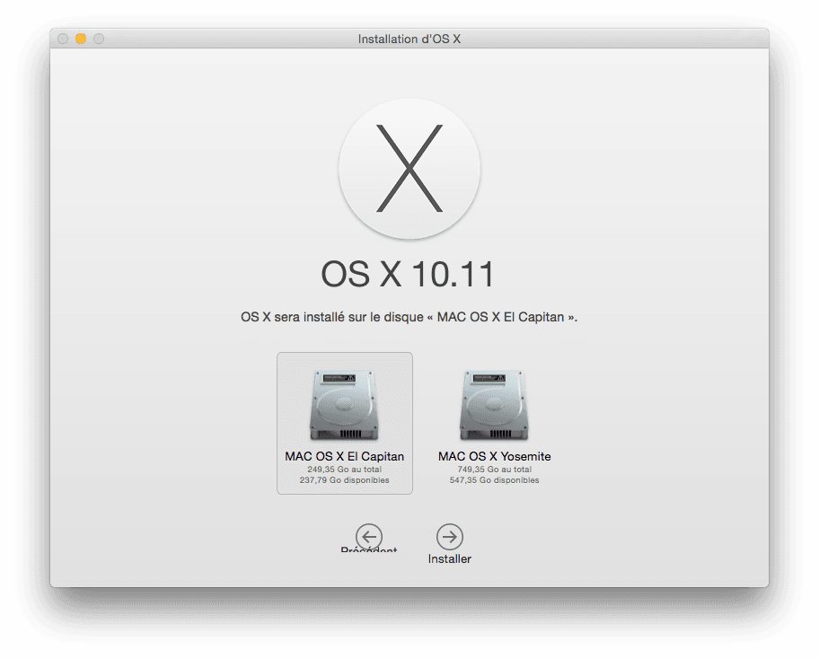 installer el capitan dual boot