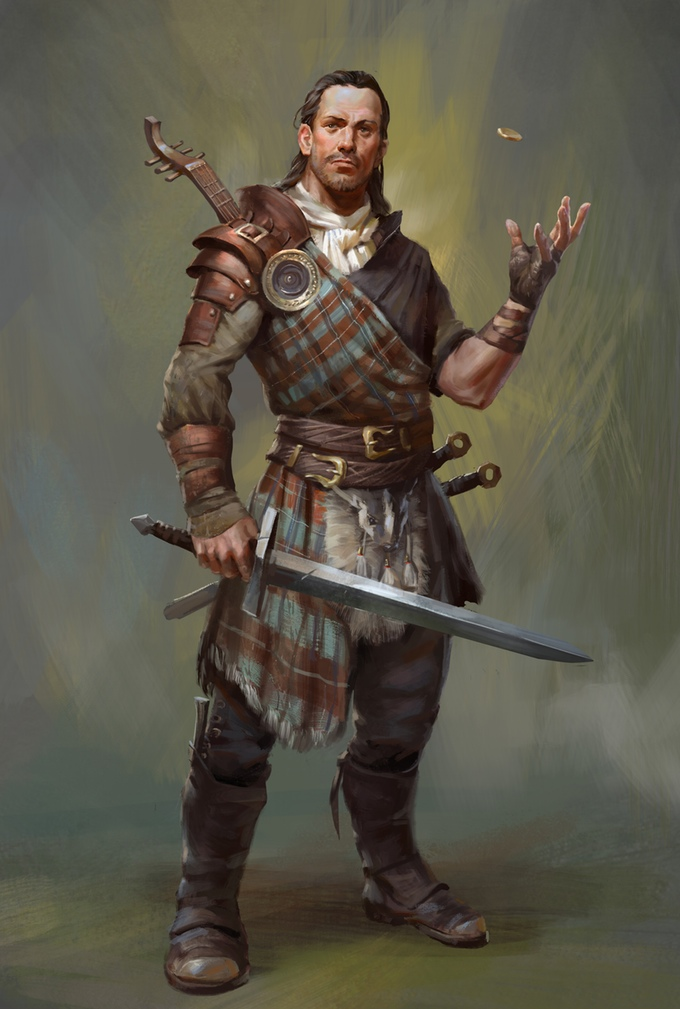 Bard's Tale IV  : personnage principal