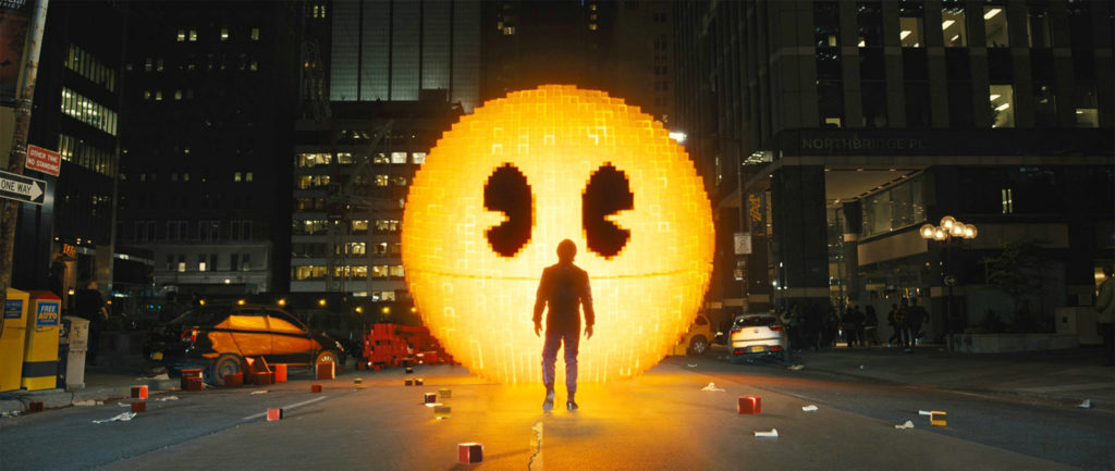 Pixels : invasion Aliens