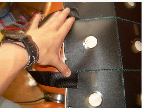 Disquettes : poignets du sac